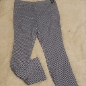 Tall blue check pants 16T